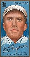 ボストンRustlers–G。C。Ferguson -野球カード 12 x 18 Art Print LANT-21842-12x18