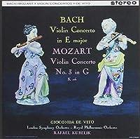 Gioconda De Vito: Bach Mozart Mendelssohn Violin Concerto