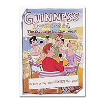 商標Fineアートgn0050-c1419gg Guinness The Sea by Guinness Brewery壁装飾 18x24 GN0050-C1824GG