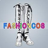 ★サイズ選択可★男性27.5CM UC387 緋弾のアリア ジャンヌ・ダルク コスプレ靴 ブーツ