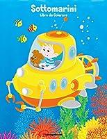 Sottomarini Libro Da Colorare 1