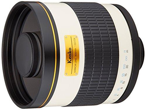Kenko 望遠レンズ ミラーレンズ 800mm F8 DX マニュアルフォーカス フィルム/デジタル一眼対応