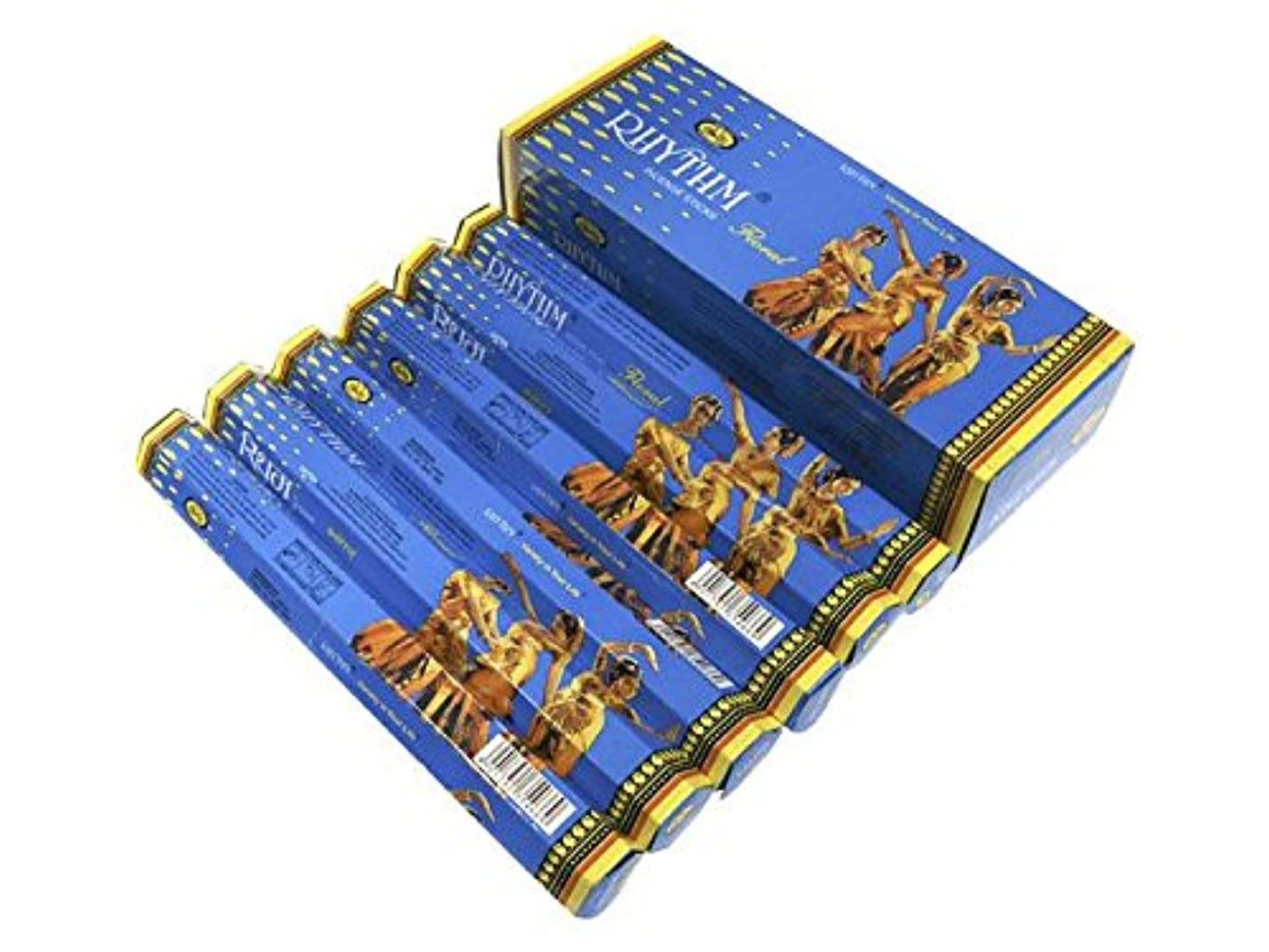 ダウンタウンローン哲学CYCLE(サイクル) リズム香フローラル スティック RHYTHM FLORAL 6箱セット