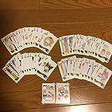 サンリオ トランプ クィーンカード 全54種コンプ おまけハローキティタオル グリコ アーモンドピークバンホーテン