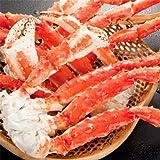 ★4L たらば蟹脚 タラバガニ 足 脚 【大型】 750g×2肩 (ボイル済★どさんこファクトリー北海道PB)