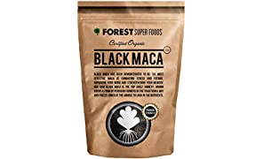 Certified Organic Potent Black Maca Powder Raw 250g (60 day supply) Direct From Peru. Nothing added.