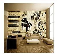 Ywwz&N カスタム写真壁紙ヨーロッパの都市橋風景画壁画バーKtvギャラリーカスタム壁紙テレビ背景壁紙-280X200Cm