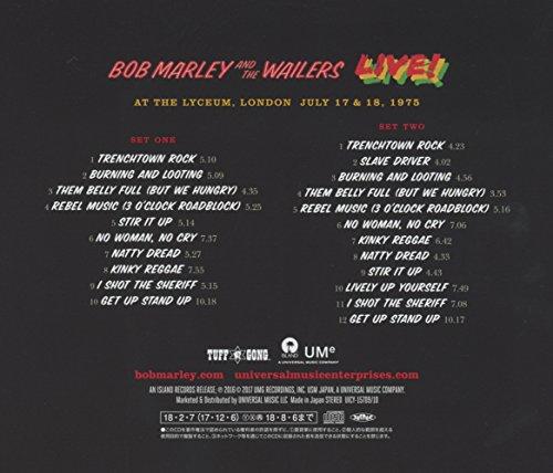 ボブ・マーリー&ザ・ウェイラーズ『ライヴ!<2CDデラックス・エディション>(UICY-15709/10)』