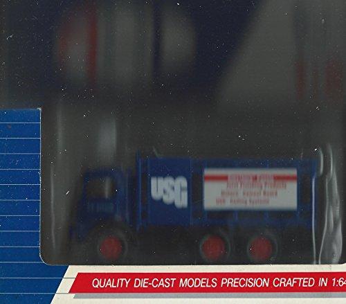Hartoy 02024Mack CJ USG SheetrockパネルStake Body Truck 1/ 64AHL dieast Model