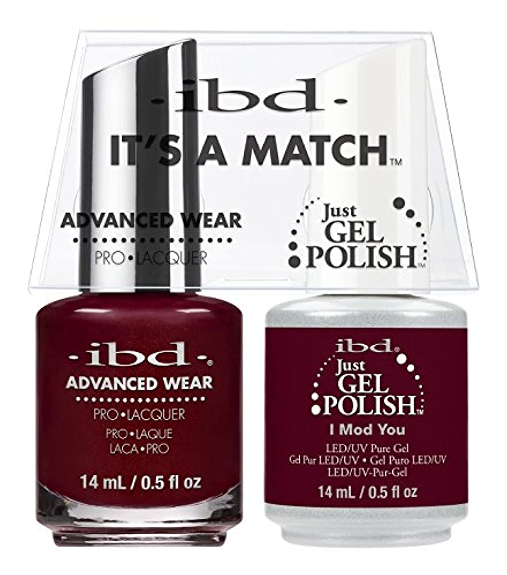寝室を掃除する資格芸術ibd - It's A Match -Duo Pack- I Mod You - 14 mL / 0.5 oz Each