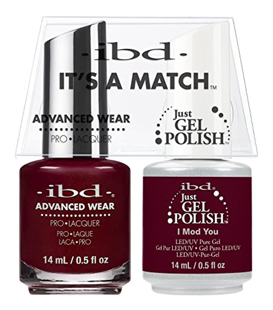 神学校アナニバー権威ibd - It's A Match -Duo Pack- I Mod You - 14 mL / 0.5 oz Each