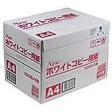 大王製紙 コピー用紙 ニューホワイト A4 2500枚 (500枚×5冊) JP101006402