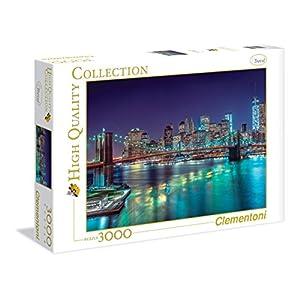 3000ピース ジグソーパズル Clementoni 夜のニューヨーク New York by night 84.5×118.4cm 33544