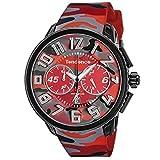 [TENDENCE] 腕時計 GULLIVER Round CAMO TY046024 メンズ レッド