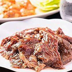 厚切り秘伝のタレ漬け 牛ハラミ1kg 焼肉(焼き肉) 用サガリ訳あり