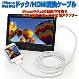 iPhoneドック・HDMI変換ケーブル