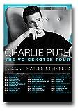 Charlie Puthポスター–Concert Promo–11x 17インチ–VoicenotesツアーW /ヘイリー・スタインフェルド2018