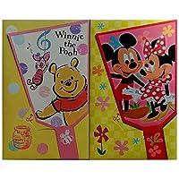 日本製 ダイカット ポチ袋 ディズニー ミッキー & ミニー & プーさん (2枚セット)
