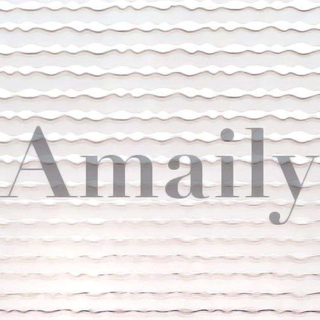 ジョリー事務所ピックAmaily(アメイリー)波ライン シルバー【ネイルアート、ネイルシール、ネイル パーツ】