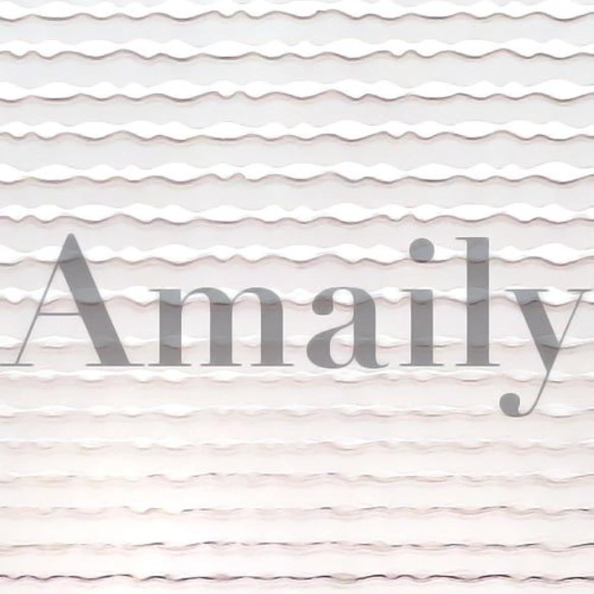 移動上げるグリルAmaily(アメイリー)波ライン シルバー【ネイルアート、ネイルシール、ネイル パーツ】