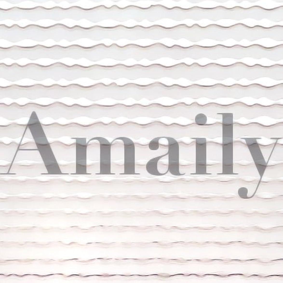 取得するアダルト繰り返すAmaily(アメイリー)波ライン シルバー【ネイルアート、ネイルシール、ネイル パーツ】