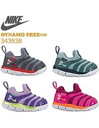 NIKE ナイキ DYNAMO FREE TD ダイナモ フリー 343938 (505:アーバンライラック/ボルト, 14cm)