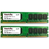 Komputerbay 4GB (2 x 2GB) DDR2 DIMM (240 ピン) AM2 800Mhz PC2 6400 / PC2 6300 DFI LANPARTY LP JR 790GX-M2RS 4 GB用