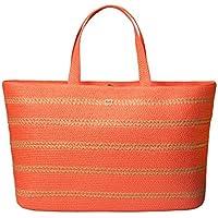 Eric Javits Luxury Fashion Designer Women's Handbag - Sinclair Tote - Spark