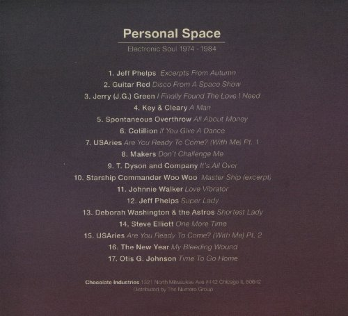 Personal Space: Electronic Soul 1974-1984
