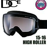DICE ゴーグル HIGH ROLLER《16HR-6》ダイス ハイローラー[MBK]pM/GRBKd[球面/偏光レンズ]スキー スノーボード スノーゴーグル goggle