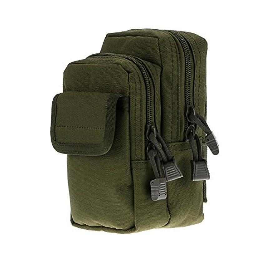 懐痛み酸っぱいDishyKooker ウエストパック タクティカル2層モールポーチバッグ ミリタリーウエストファニーパックポケット