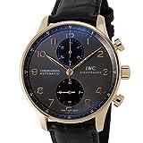 IWC ポルトギーゼクロノ IW371482 クロノグラフ インターナショナルウォッチカンパニー メンズ 腕時計 グレー×ブラック [並行輸入品]
