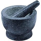 Davis & Waddell D2750 Traditional Granite Mortar & Pestle, Black/White Speckle