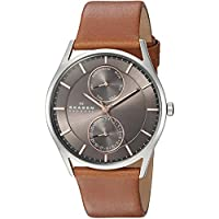 Skagen Men's SKW6086 Holst Saddle Leather Watch