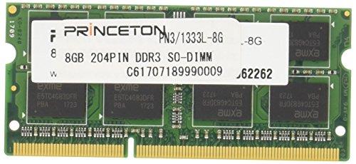 プリンストン DOS/V ノート用メモリ 8GB PC3L-10600(DDR3L-1333) 204pin SO-DIMM PDN3/1333L-8G