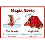 [マジック]Magic Red Monkey Socks, Expands in Water 98900.monkey [並行輸入品]