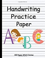 Handwriting Practice Paper-ABC kids: Handwriting Practice Paper for Kids with Dotted Lined Sheets for K-3 Students, 100 pages, 8.5x11 inches