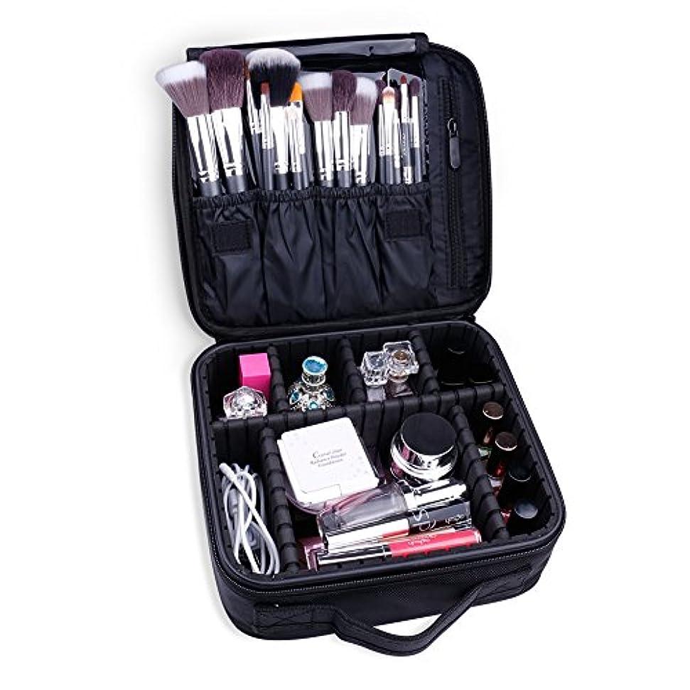 認識佐賀レッスンDocolor ドゥカラー 化粧ポーチ 高品質 多容量 化粧バッグ 多機能収納ケース メイクブラシ収納ケース