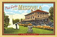Post Cards From Missoula: A Vintage Postcard Book