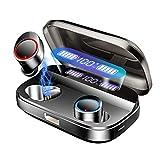【令和最高品質モデル】bluetooth イヤホン ワイヤレス イヤホン 4000mAh超大容量充電ケース付 最新Bluetooth 5.0 + EDR搭載 左右分離型 イヤホン bluetooth 240時間連続駆動 LEDディスプレイ電量表示 Hi-Fi 高音質 AAC対応 完全防水 イヤホン 自動ペアリング 音量調節可能 Siri対応 iPhone /ipad /Android 適用 完全ワイヤレスイヤホン