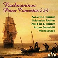 Pno Cons 2 & 4 Richter Michelangeli by S. RACHMANINO