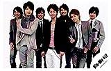 Kis-My-Ft2/キスマイ 集合 公式生写真/カメラ目線・背景ベージュ・真ん中藤ヶ谷