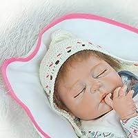 NPK collection Rebornベビー人形リアルな赤ちゃん人形ビニールシリコン赤ちゃん22インチ55 cmウール人形