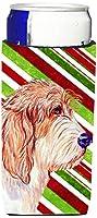 Caroline 's Treasures lh9262-parent Petit Basset Griffon Vendeen Candy Cane HolidayクリスマスUltra Beverage Insulators forスリム缶lh9262muk、、マルチカラー Slim LH9262MUK