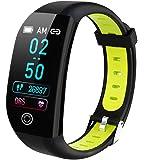 スマートブレスレット スマートウォッチ 万歩計 活動量計 血圧計 心拍計 歩数計 睡眠検測 消費カロリー 健康管理 女性…
