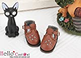 ドール用 coolcat ホロウアウト(ブラウン)22-03