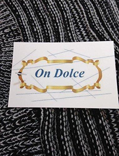 『On Dolce 選べる5色 ボーダー ニット帽 スノー ワッチ ニットキャップ ワッチキャップ メンズ レディース スキー スノボ にも NC001 (ブラック)』の7枚目の画像