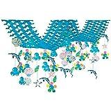 夏のマリンブルー装飾 イルカシェルサマー2連ハンガー L220cm【夏?海?ディスプレイ?装飾?飾り】  8561