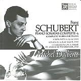 Schubert: Complete Piano Works, Vol. 6 - Michel Dalberto (1992-08-03)