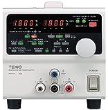 TEXIO(テクシオ) 多出力直流安定化電源 2ch(+18V3A,-18V/3A) : PW18-3AD